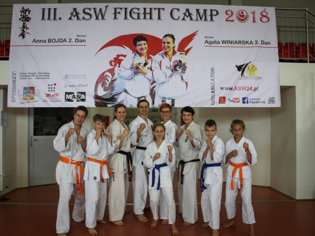 III ASW Fight Camp